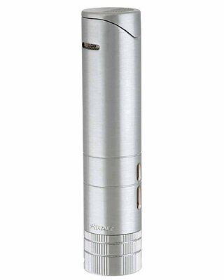 Xikar 564SL Turrim 5x64 Dual Flame Lighter SILVER! SAVE 38%! New! Free Shipping!