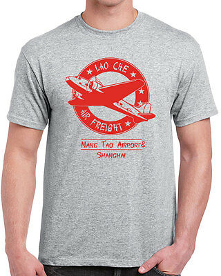613 Lao Che Air Freight Mens T Shirt Funny Indiana Movie Adventure Jones Funny