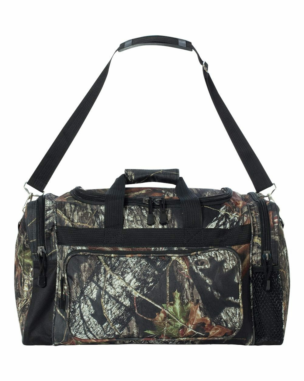 025368ef0f Details about LICENSED CAMO HUNTING DUFFLE BAG - MOSSY OAK