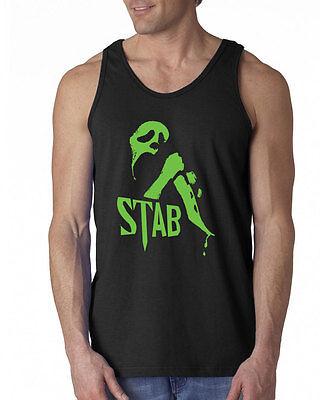 351 Stab Tank Top film movie scream scary 90s slasher flick costume funny