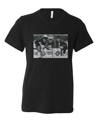 Beastie Boys Boombox Custom Youth T-Shirt Kids Tee Unisex Brand New](Children's Boombox)