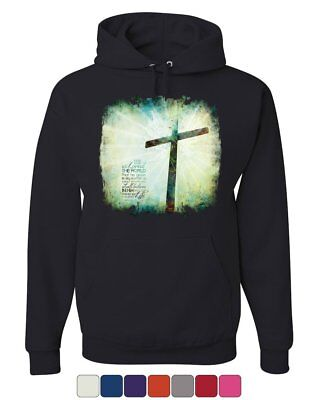 For God so Loved the World Hoodie Lord Savior Jesus Christian (For The Lord So Loved The World)