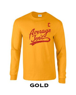 079 Average Joes Long Sleeve funny dodgeball uniform costume halloween cool - Average Joes Halloween Costume