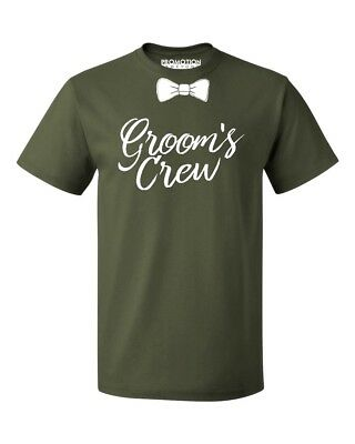 Groom's Crew Wedding Bachelor Party Men's T-shirt - Bachelor Party Shirts