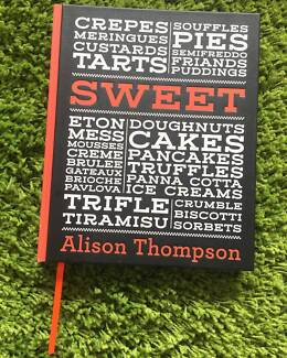 Alison Thompson - SWEET Cookbook - Recipes, Desserts, Cakes, Pies Coogee Eastern Suburbs Preview