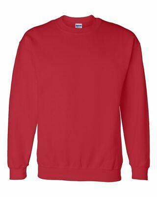 Gildan DryBlend Crewneck Sweatshirt Pullover Athletic Adult Size New (Gildan Athletic Sweatshirt)