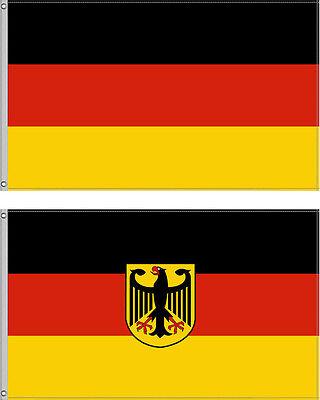 Deutschland Fahne Flagge 90 x 150 Fussball Hissfahne Adler Farben Auswahl EM WM