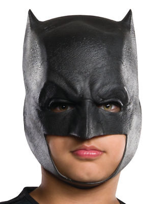 Dawn Of Justice Batman 3/4 Costume Mask Child One Size Free Shipping](Costumes Of Batman)