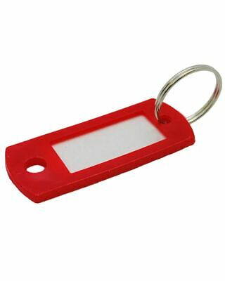 Lucky Line 16970 Key Tags, Red (50-Pack)