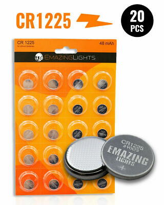 EmazingLights CR1225 Batteries 3v Button Cell Lithium Battery