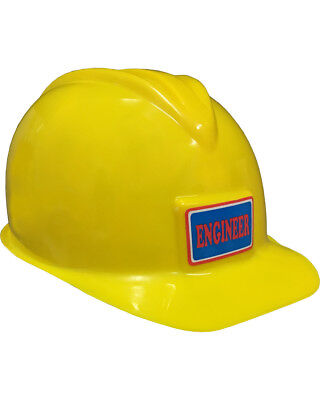 Deluxe Child Construction Costume Hard Hat Toy - Childrens Hard Hat