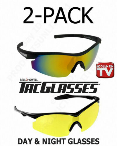 BELL + HOWELL TacGlasses Sunglasses - 2 Pack