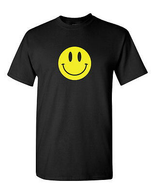 Smiley face T Shirt Happy smile tee - Happy Face Tee