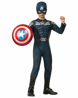 Marvel Captain America Stealth Suit The Winter Soldier Toddler Costume, L(12-14)