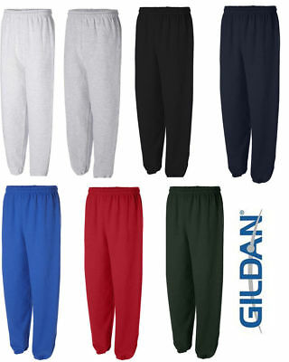 - GILDAN Mens S M L XL 2XL Heavy Blend NO Pocket Sweatpants Jumper 50/50 g18200