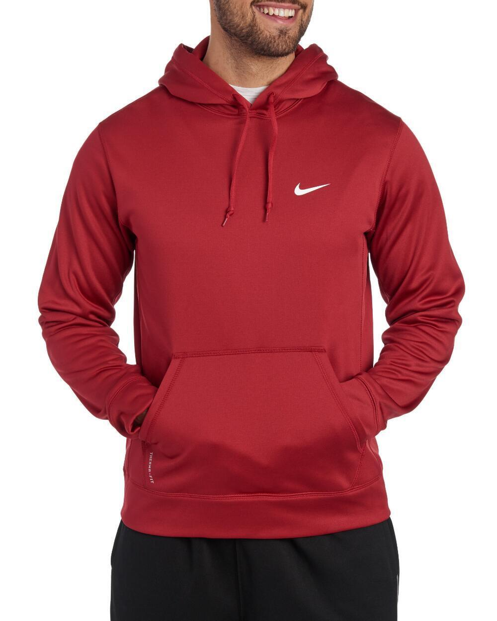 Buy Nike KO 3.0 Therma Hoodie Sweatshirt Mens XL Charcoal