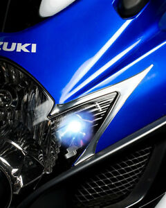 SUZUKI GSXR 600 750 LED WHITE RUNNING LIGHTS GSXR600 GSXR750 04 05 06 07