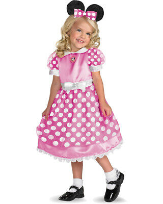 Girl's Disney Mickey Mouse Clubhouse Pink Minnie Costume Dre