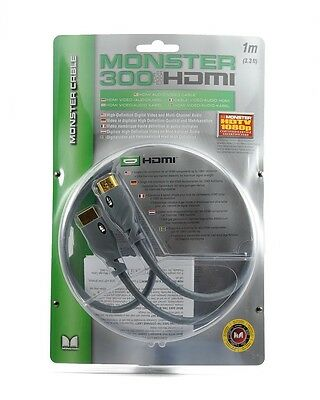 Monster Cable HDMI 300 Series 1M 3 (Cable 300 Series)