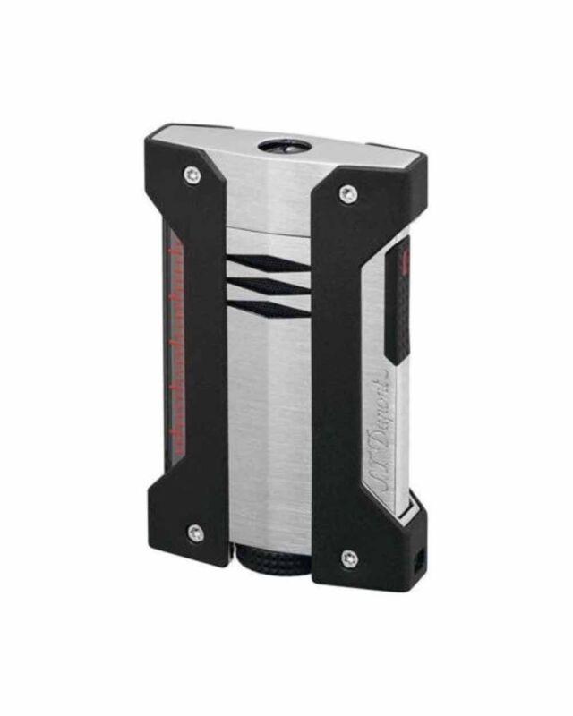 S.T. Dupont Defi Extreme Brushed Chrome High Altitude Lighter 21403 (021403) NIB
