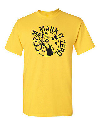 Mark it Zero The  Big Lebowski Walter Sobchak Movie Funny Tee Shirt 1210