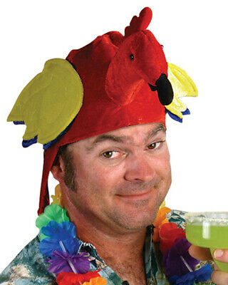 Jimmy Buffet Coral Reefer Band Parrothead Parrot Hat