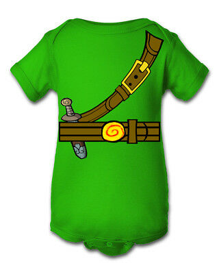 Zelda Link Inspired Jumper/Shirt Crawler Halloween Costume - Zelda Halloween Costume Link