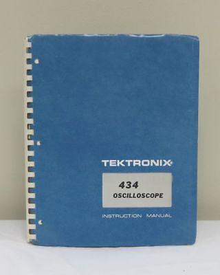 Tektronix 434 Oscilloscope Instruction Manual