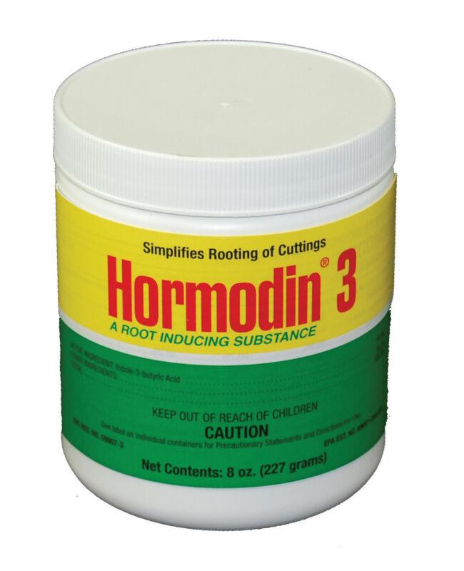 Hormodin #3 Rooting Hormone Powder- 1/2 Lb -0.8% IBA- Root Stimulant Propagation