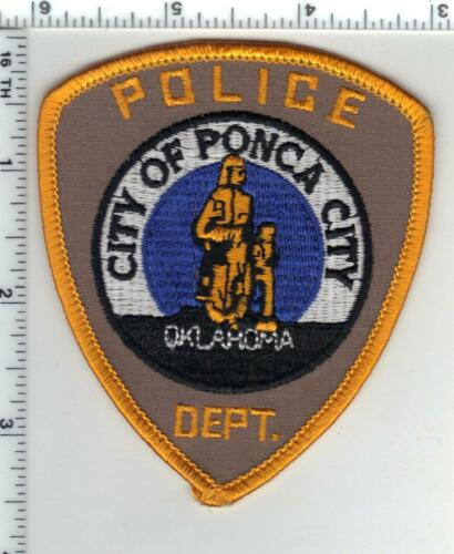 City of Ponca City Police (Oklahoma) 1st Issue Shoulder Patch
