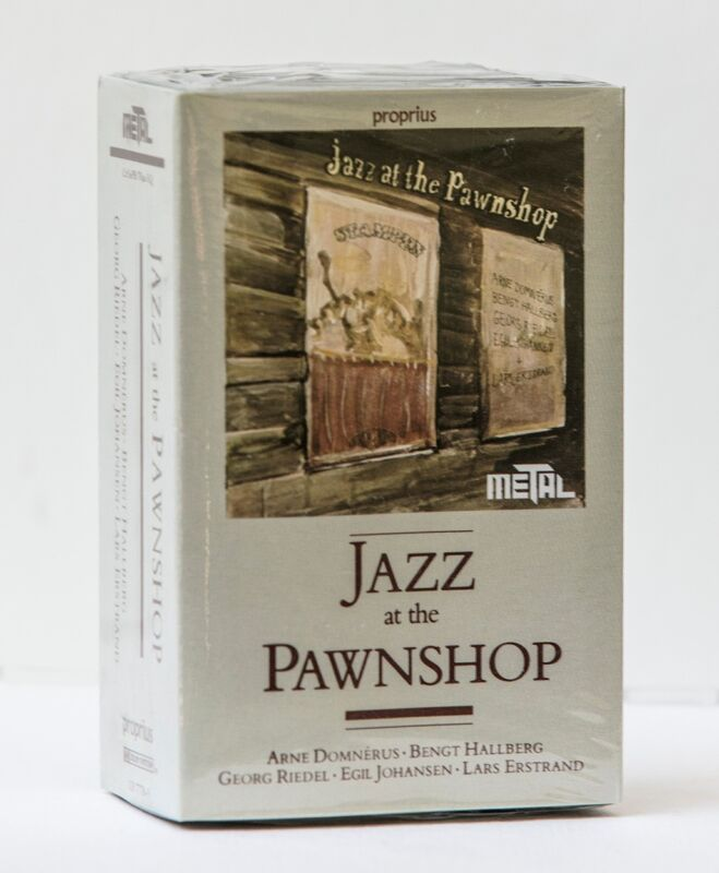 Jazz at the Pawnshop  2 Cassette tapes, NEW Rare audiophile rec.