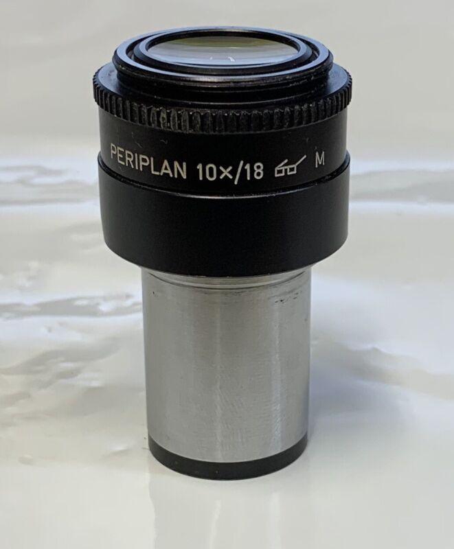ONE Leitz Periplan 10X/18 M Microscope Eyepiece 23mm Adjustable