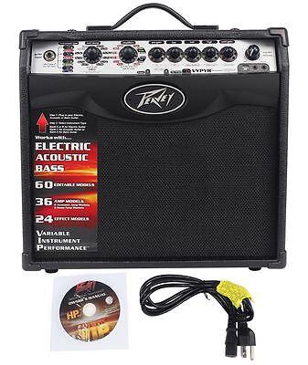 Peavey Vypyr VIP 1 20 Watt 1x8 Combo Practice Guitar Amplifier w/ Amp Modelling