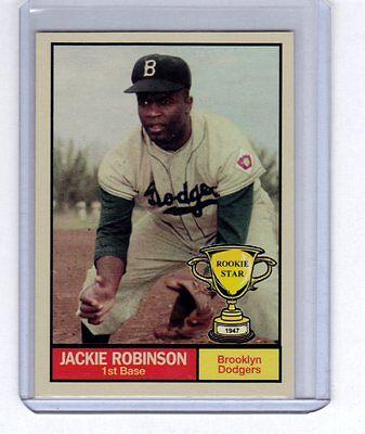 Jackie Robinson 1947 Brooklyn Dodgers Rookie Stars Series  7 By Monarch Corona