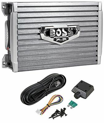 Boss Armor Ar1500m 1500 Watt Mono Amplifier Compact Size Car Amp   Bass Remote