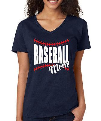 BASEBALL MOM cute baseball softball season little league Women