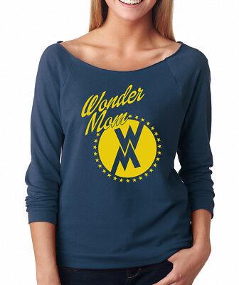Wonder Woman Halloween Shirt (WONDER MOM wife Halloween Christmas gift woman movie Women's Raglan)