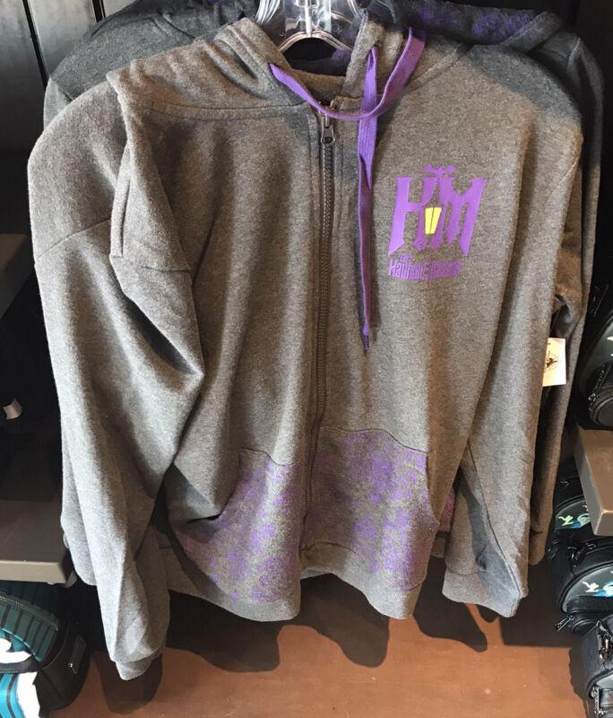 Disney Parks Haunted Mansion Hoodie Jacket Women NEW 2020 M L XL 1X 2X 3X
