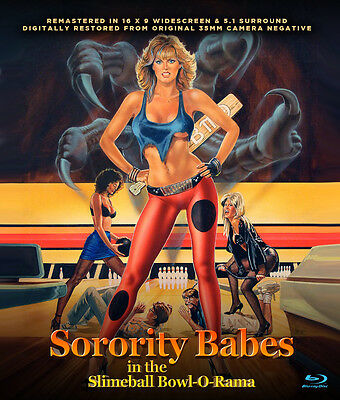 Sorority Babes In The Slimeball Bowl O Rama Blu Ray