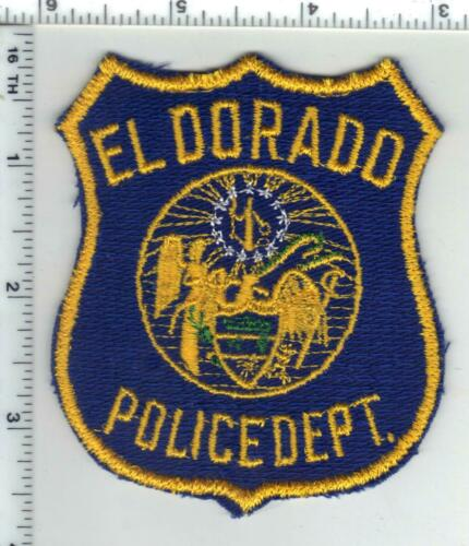 El Dorado Police (Arkansas) 1st Issue Shoulder Patch