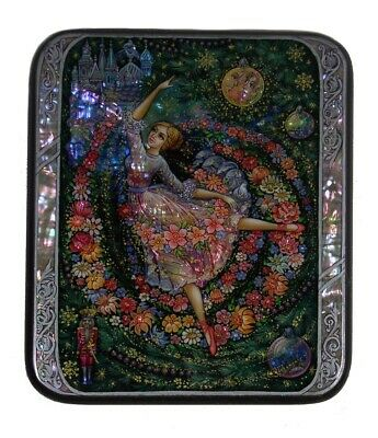 Kholui Russian Lacquer Box Waltz of the Flowers (From The Nutcracker) -