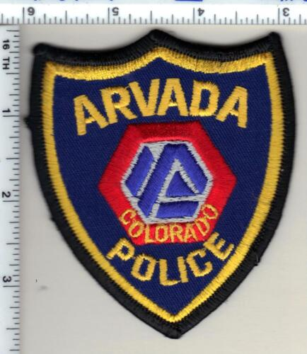 Arvada Police (Colorado) Shoulder Patch - new from 1989