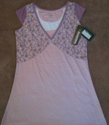 Diadora Dia-Dry Tennis Dress Flora Dress Lavender/Sangria Size Medium Diadora Tennis Apparel