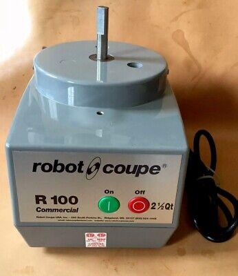 Robot Coupe R100 Clr 2.5 Qt Commercial Food Processor Base Only
