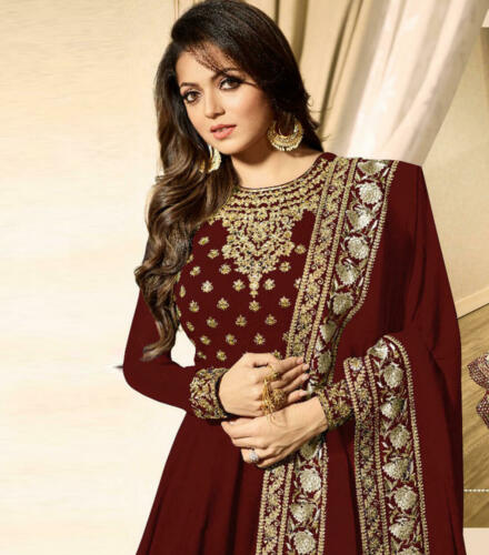 Suit Salwar Bollywood Kameez Indian Designer Pakistani Anarkali Dress Ethnic eid