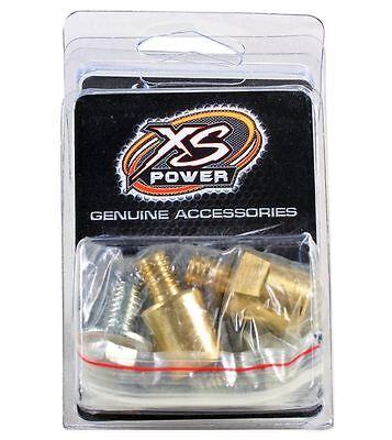 XS Power 575 M10 Brass Bolts for 551 I-Bar Bus-Bar Battery Post Terminal Adapter