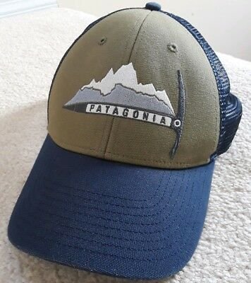 a30201cd9c196 Piolet Pickaxe Patagonia trucker Hat cap mens snapback ice pick day to day  rare