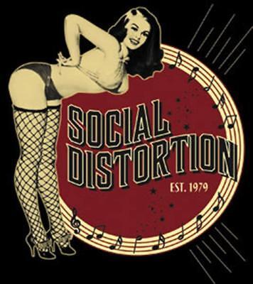Social Distortion Burlesque STICKER - Decal Music Band Album Art SE118