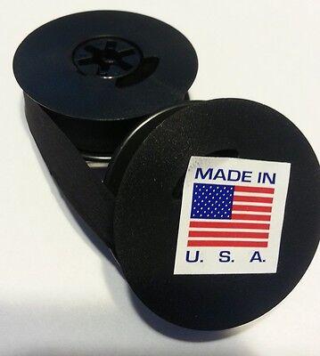 Royal Model O Spool Typewriter Black Spool To Spool Ribbon - Made In Usa