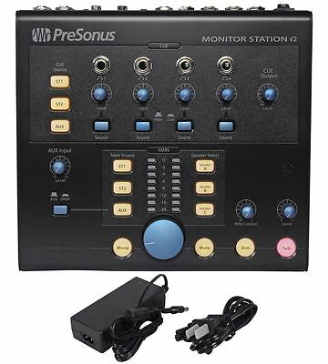 - Presonus Monitor Station V2 Studio Monitor Control Center/Speaker Selector